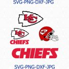 Kansas city Chiefs SVG, Kansas city Chiefs logo, Chiefs football svg, Chiefs svg