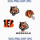 Cincinnati Bengals SVG, Cincinnati Bengals logo, Cincinnati Bengals football svg, Bengals