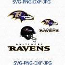 Baltimore Ravens SVG, Baltimore Ravens logo, Baltimore Ravens football svg, Ravens svg
