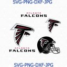 Atlanta Falcons SVG, Atlanta Falcons logo, Atlanta Falcons football svg, Falcons logo