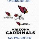 Arizona Cardinals SVG, Arizona Cardinals logo, Cardinals Football svg, Cardinals svg