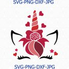 Valentine's Unicorn svg, Valentine's day svg, Unicorn svg, love svg, unicorn cutfiles