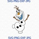 Olaf The Frozen SVG, Olaf birthday svg, Frozen SVG, birthday svg, Frozen, olaf toys, dxf