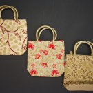 20 Pcs Indian Handmade Embroidered Purse Handbag Wedding Favor Bag Return Gifts