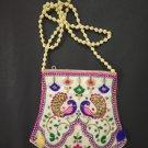 50 Indian Handmade Embroidered Sling Bag Wedding Favor Return Gifts For Guests