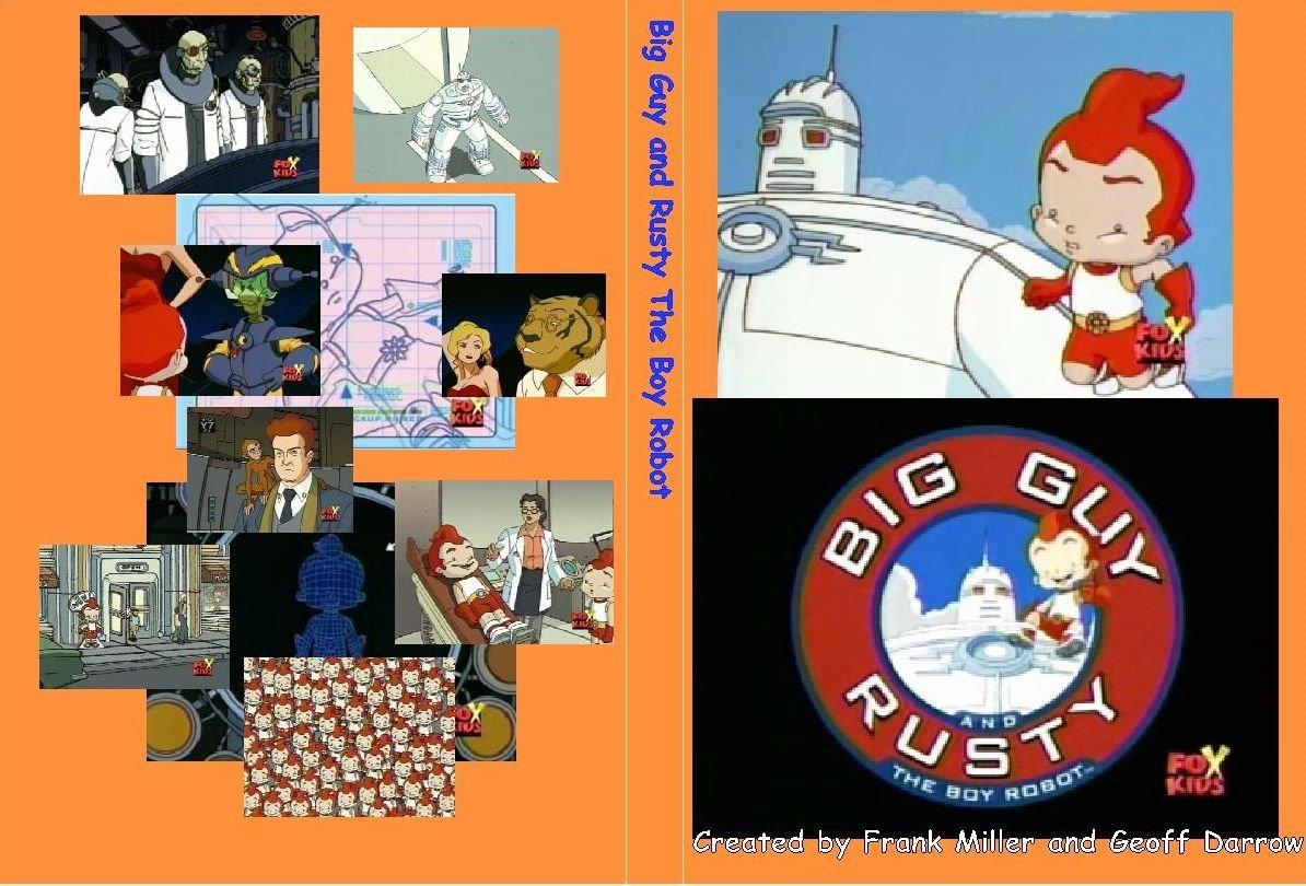 BIG GUY AND RUSTY THE BOY ROBOT Complete Series On 2 DVDs
