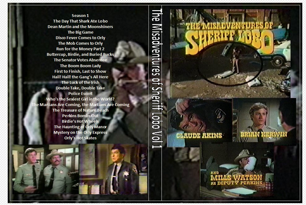 The Misadventures of Sheriff Lobo Complete on 7 DVDs