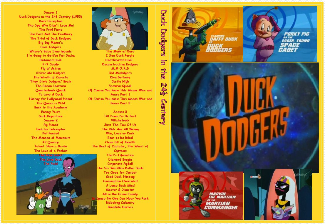 Duck Dodgers in the 241/2 century the complete series on 3 DVDs