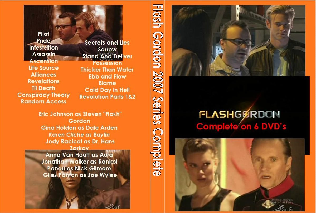 Flash Gordon 2007 Series Complete on 6 DVD�s