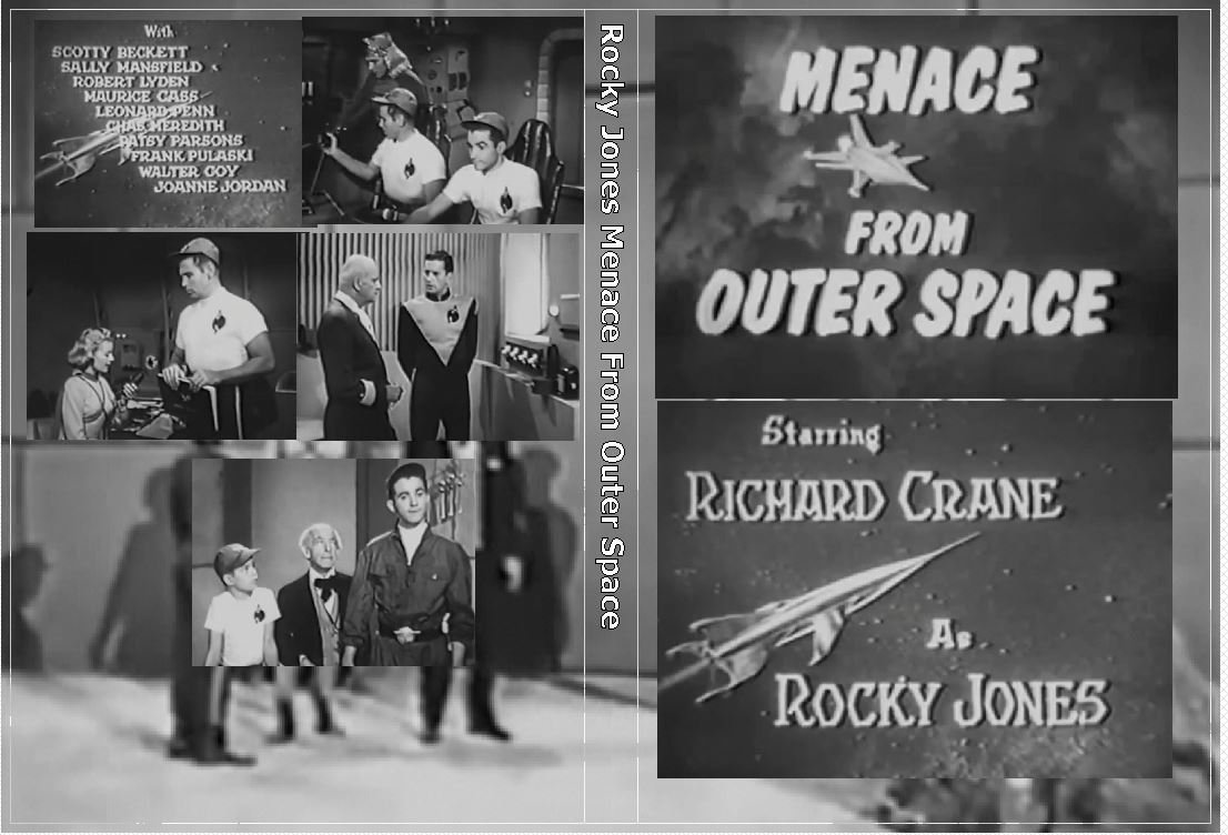 1953 Rocky Jones Space Ranger Menace from Outer Space on 1 DVD