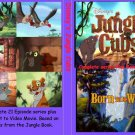 DISNEY'S JUNGLE CUBS Complete with movie! On 4 DVDs