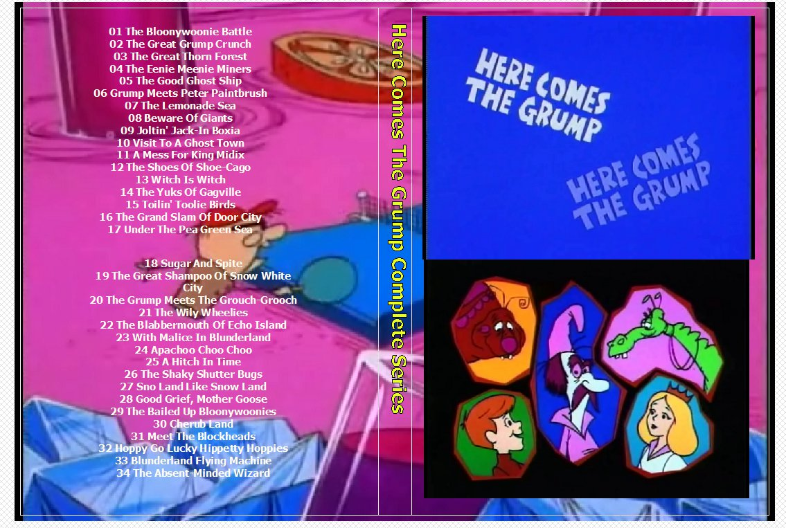 Here Comes The Grump Complete Series on 2 DVDs