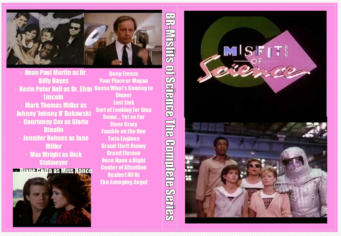 Misfits of Science The Complete Series on 4 DVDs