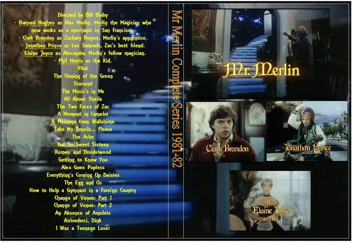 Mr Merlin Complete Series 1981-82 On 3 DVDs