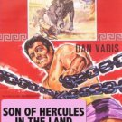 Son Of Hercules In The Land Of Darkness on 1 DVD