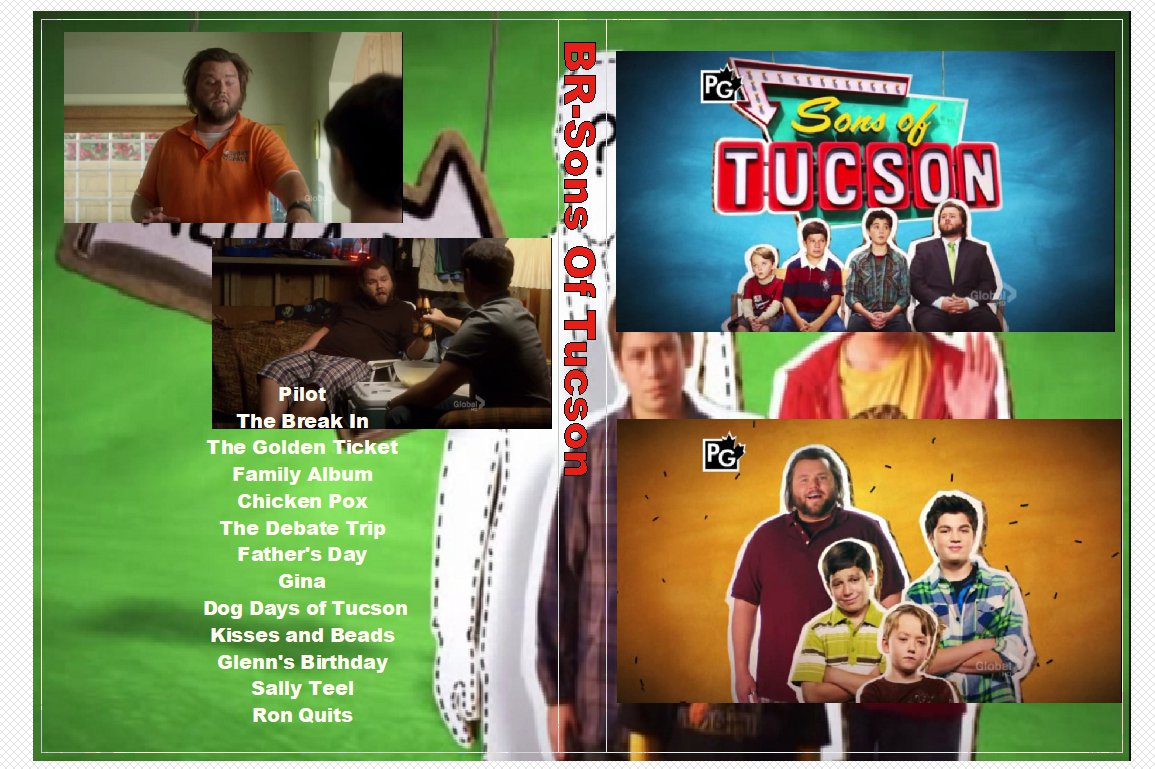 Sons of Tucson Complete Series on 2 DVD�s