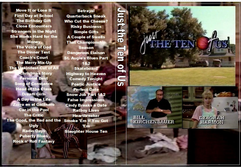 Just the Ten of Us The complete Series on 5 DVDs