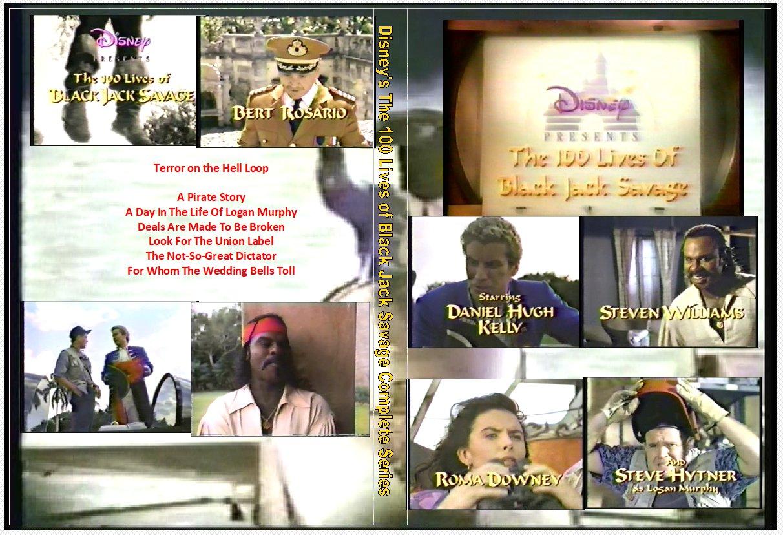 Disney�s The Hundred 100 Lives Of Black Jack Savage on 2 DVDs