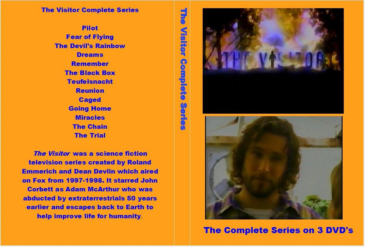 The Visitor Complete Series on 3 DVDs