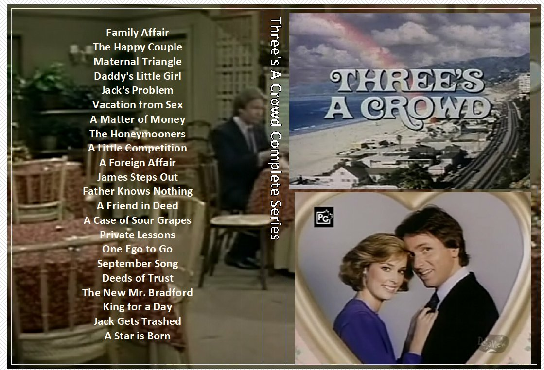 Three�s A Crowd Complete Series on 3 DVDs