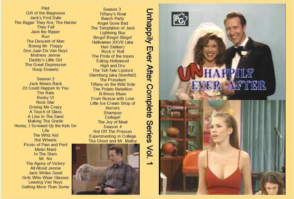 UNHAPPLIY EVER AFTER The Complete Series w/Tiffany�s Birthday on 10 DVDs