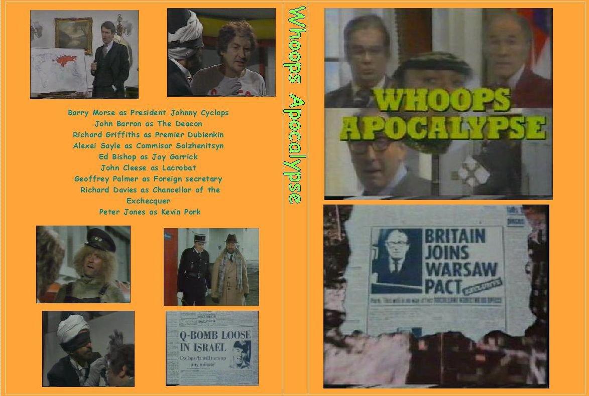 Whoops Apocalypse the complete series on 1 dvd