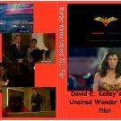 Wonder Woman Unaired 2011 Pilot on 1 DVD