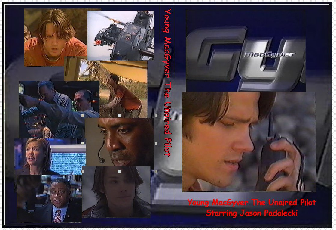Young MacGyver The Unaired Pilot on 1 DVD