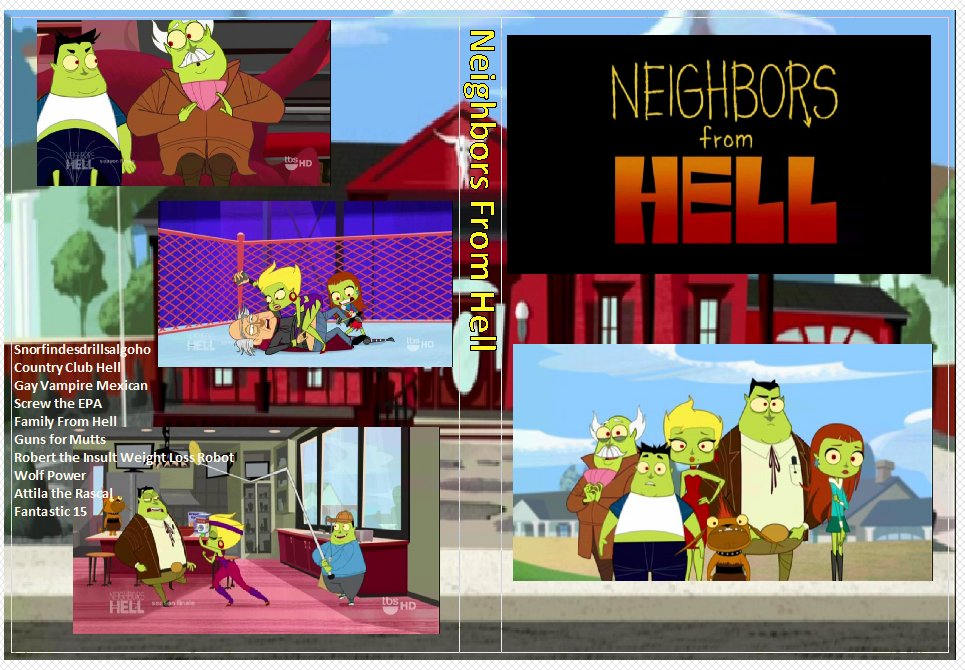Neighbors From Hell Complete Series the complete series on 1 DVD
