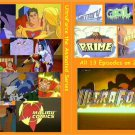 ULTRAFORCE THE ANIMATED SERIES COMPLETE on 2 DVDs