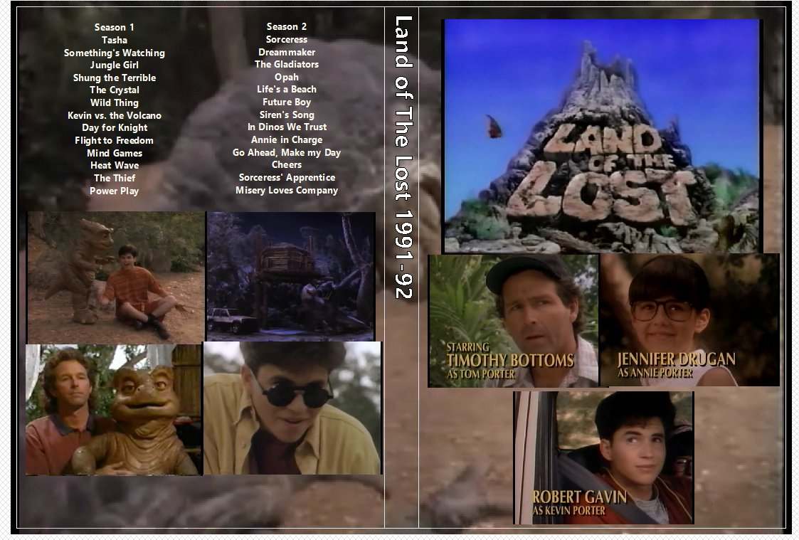 Land of The Lost 1991-92 on 3 DVDs The complete series