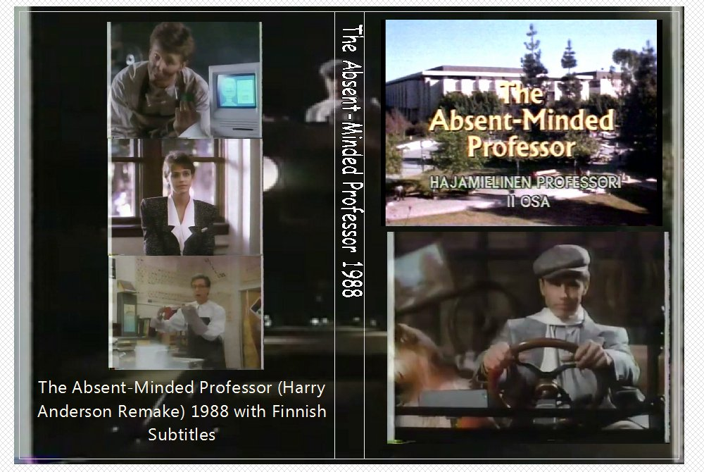 DISNEY�S ABSENT MINDED PROFFESSOR STARING HARRY ANDERSON 1988 on 1 DVD