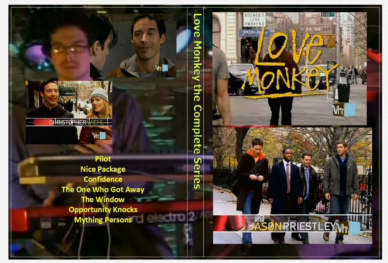 Love Monkey the Complete Series on 2 DVD�s