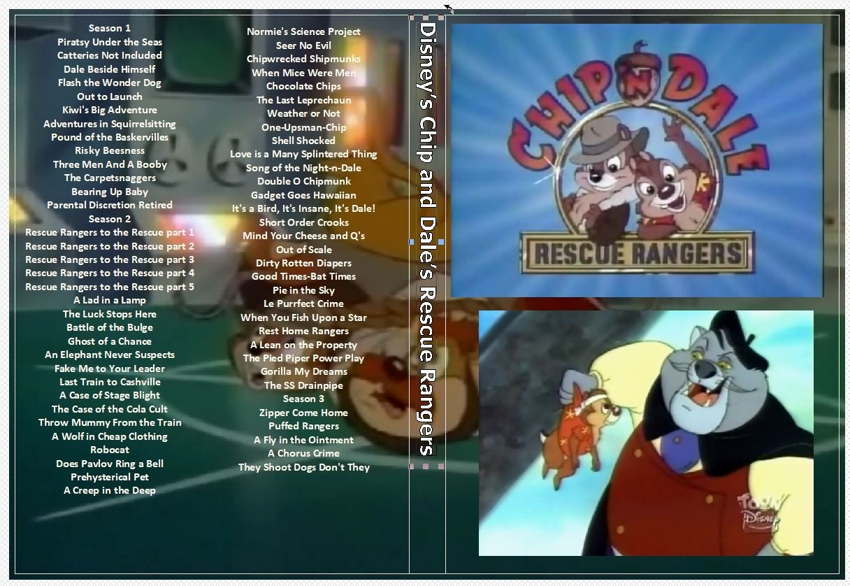 Disney�s Chip and Dale�s Rescue Rangers the Complete Series on 6 DVDs