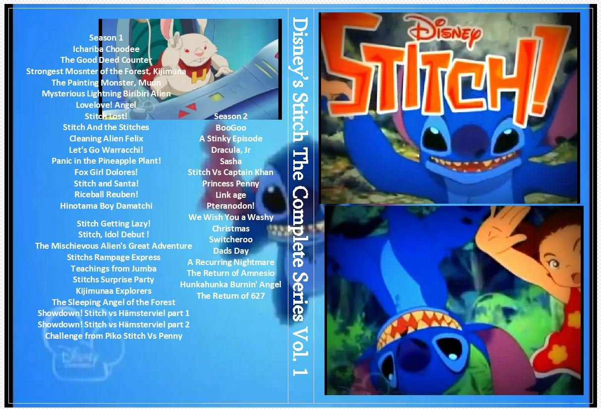 Disney�s Stitch The Series Complete on DVD