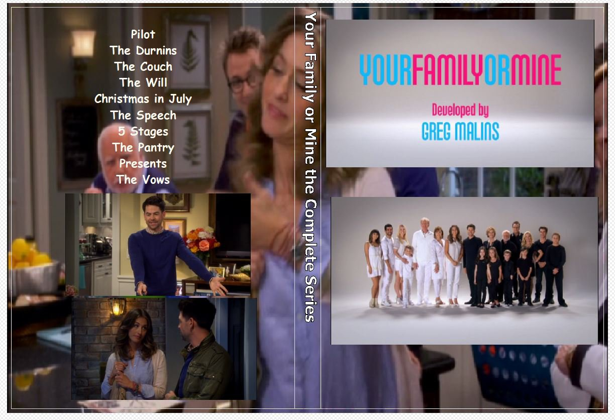 Your Family or Mine the Complete Series on 1 DVD