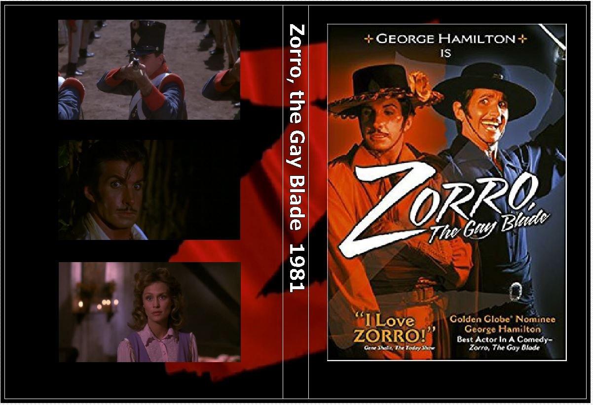 Zorro, the Gay Blade on DVD