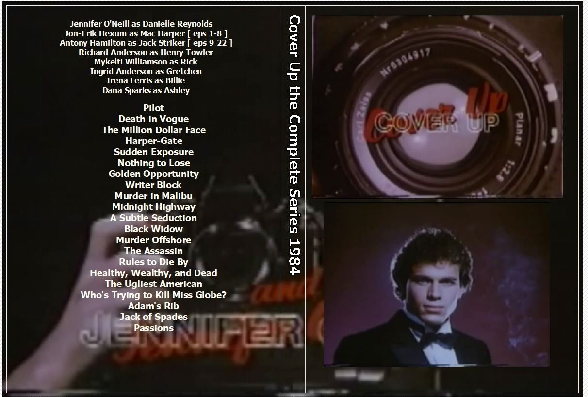 Cover Up the Complete Series 1984 on 4 DVDs