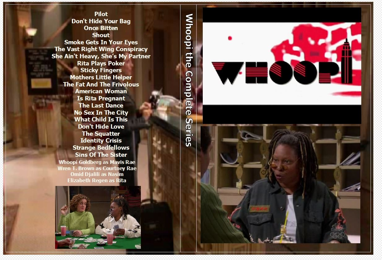 Whoopi the Complete Series on 3 DVDs
