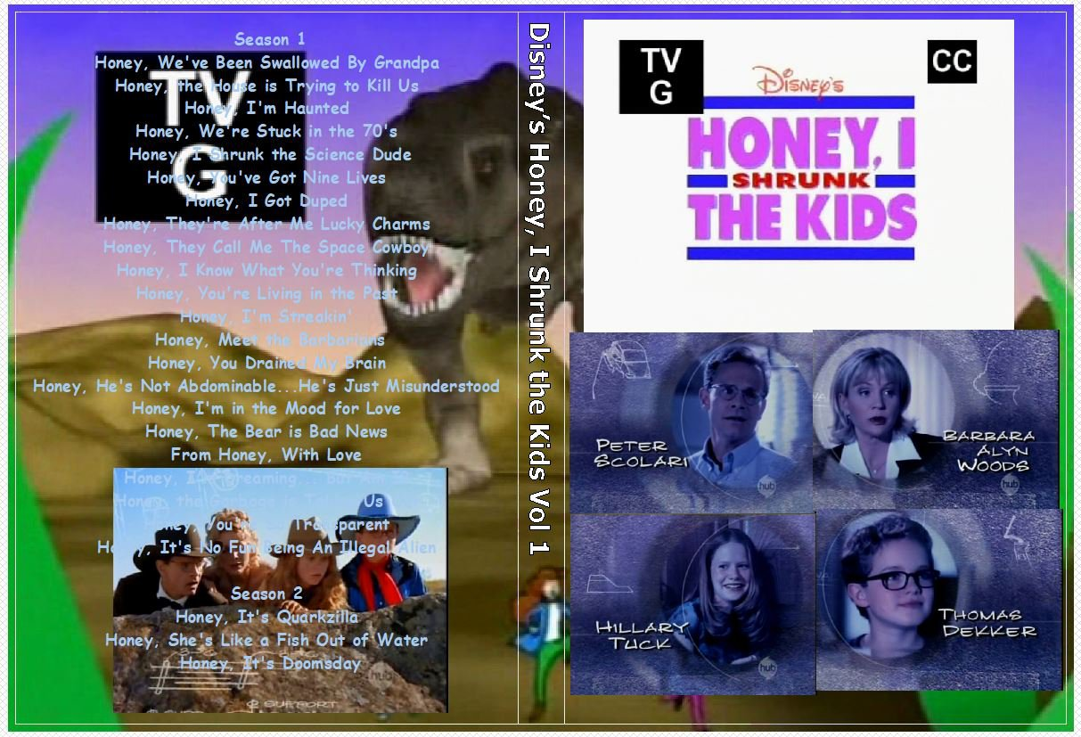 Disney�s Honey, I Shrunk the Kids series the complete series on 13 DVDs