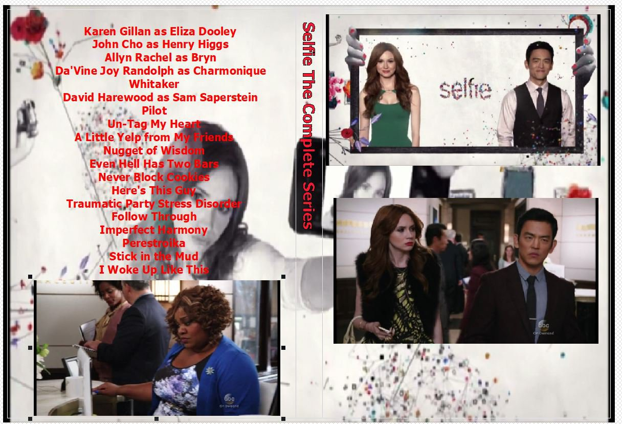 Selfie The Complete Series on 2 DVDs
