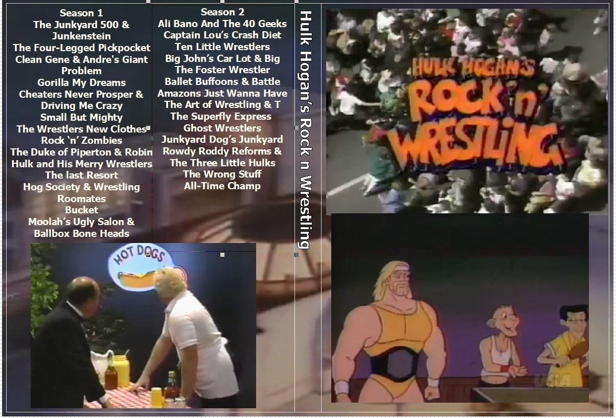 Hulk Hogan�s Rock n Wrestling the Complete Series on 3 DVDs