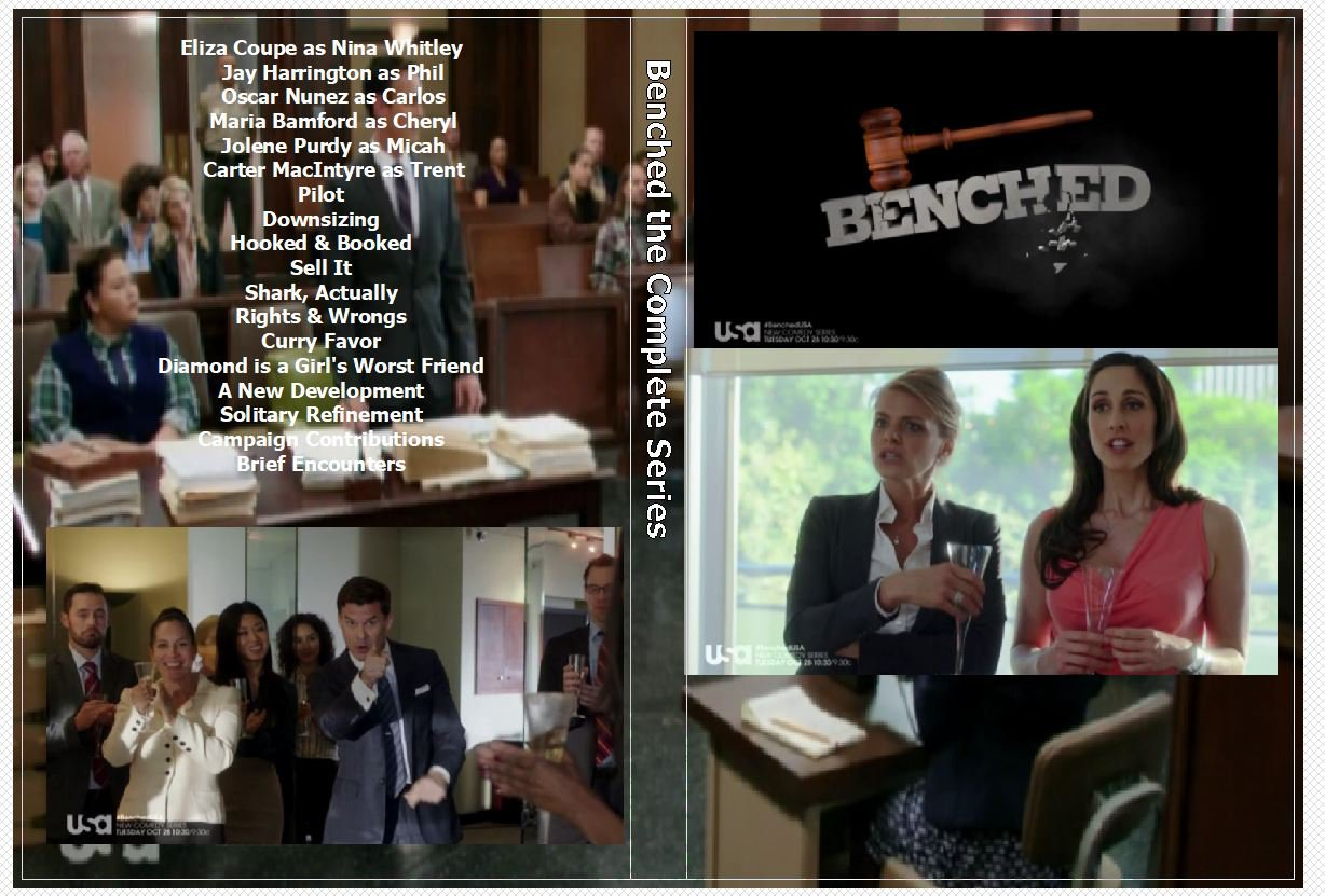 Benched the Complete Series on 2 DVD