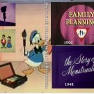 Disney Special Shorts Family Planning and the story of Menstruation on 1 DVD