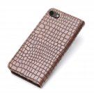 For Apple iPhone SE 2020 Case Crocodile Stylus Leather Wallet Premium Cover
