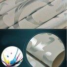 Metallic Textured Damask Embossed Wallpaper Soft Silver Glitter Home Wall Decor