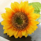 1x Single Head Artificial Sunflower for Home Office Wedding Party Garden Decor