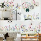 UK Self-Adhesive Peony Flower Wall Stickers DIY Art Decal Home Decor Removable
