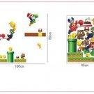 New Cute Cartoon Super Mario Wall Sticker Kids Room Mural Decal Home Decoration