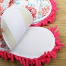 Unisex Microfiber Mop Slippers Floor Cleaning Dust Home Cleaning Tool Shoes